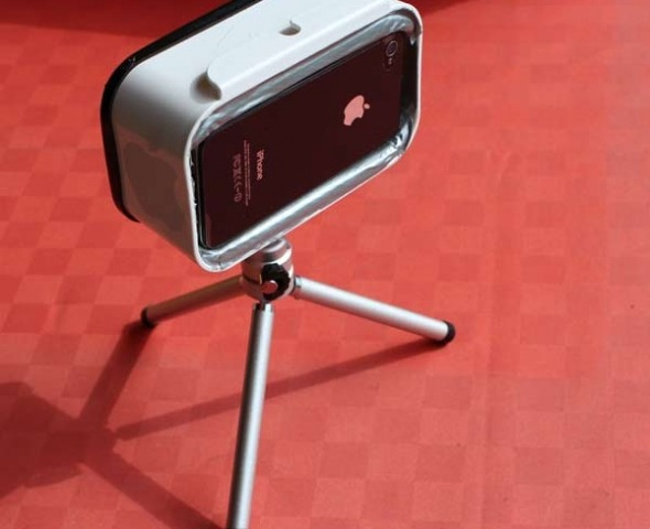 Cavalletto per Iphone fatto in casa