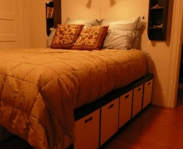 Prima idea letto con Expedit