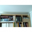 Expedit come guardaroba chiuso con tende KVARTAL