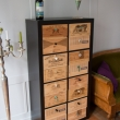 Antine EXPEDIT ricavate da casse di vino in legno