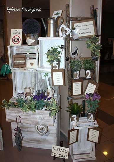 Www Miaikea Com Tableau Per Matrimonio In Stile Shabby Chic