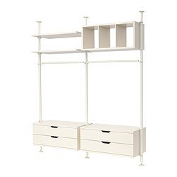 Stolmen sistema componibile ikea for Ikea guardaroba componibile
